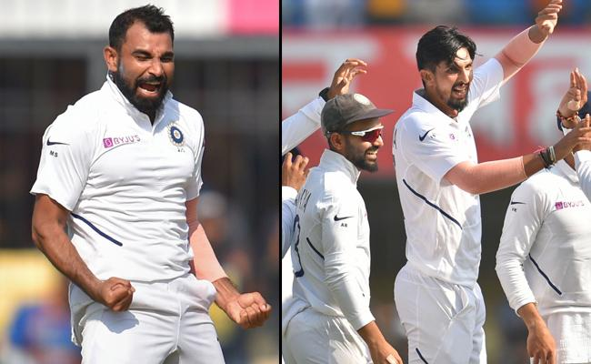 Ind vs Ban: Shami And Ishant Combine To Pick Hat Trick - Sakshi