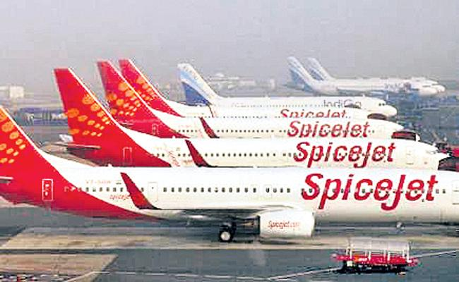463 Crore Spicejet Loss This Fiscal year - Sakshi