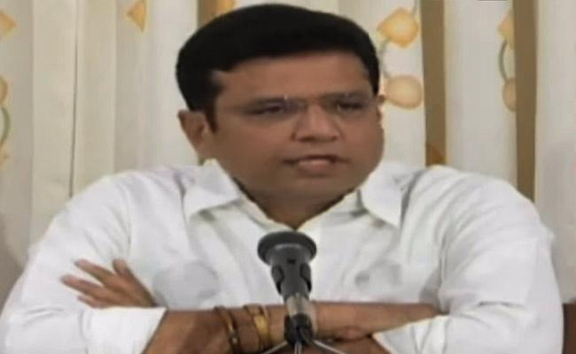 Sreedhar Babu Fires On Koppula Eshwar And Singareni officials - Sakshi