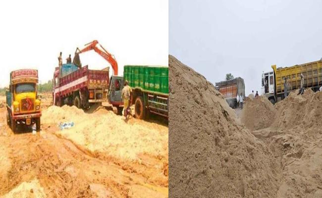 TDP Involved In Sand Mafia In Srikakulam - Sakshi