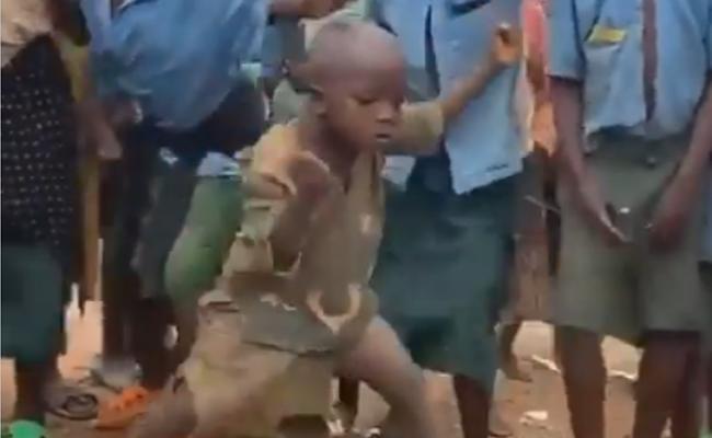 IPS Officer Shares Child Dance Viral Video - Sakshi