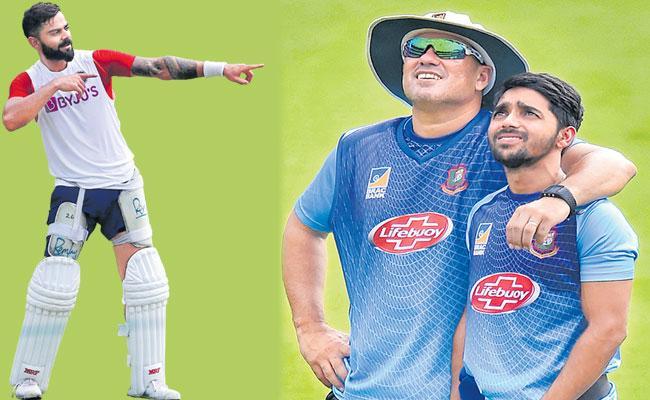India vs Bangladesh Test Series India Look To Stay Top - Sakshi