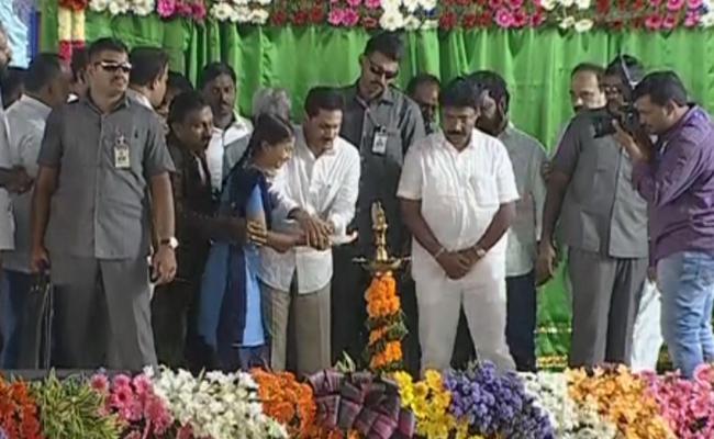 CM Ys Jagan Launched Mana Badi Nadu Nedu At Ongole - Sakshi
