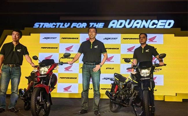 BS6 Honda SP 125 launched at Rs 72,900 - Sakshi