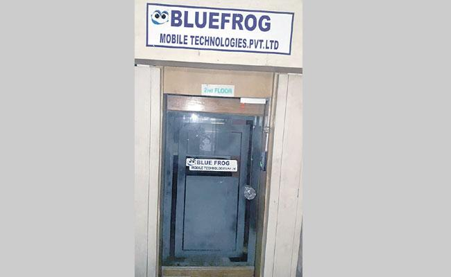 CID Searches Blue Frog Company - Sakshi