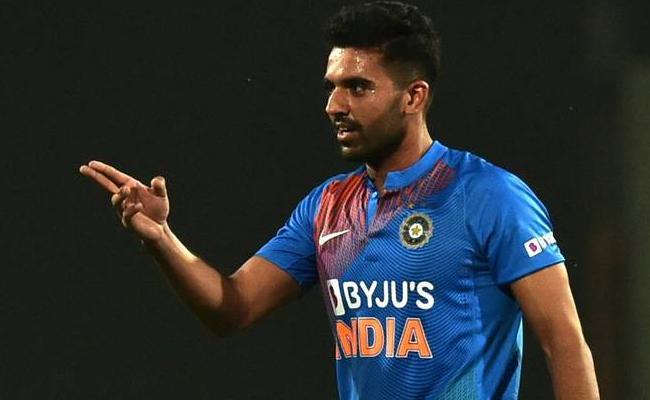 Deepak Chahar 3 Wickets In4 Balls - Sakshi