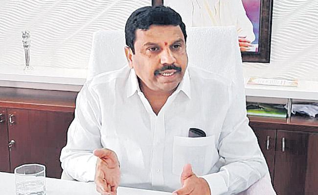 Mareddy Srinivas Reddy Says Surveillance Over Grain Purchases - Sakshi