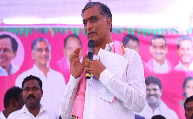 Minister Harish Rao Distribute Double Bedroom Houses In Sangareddy District - Sakshi