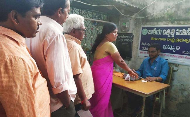 Ration Has Becoming Digitalization In Khammam - Sakshi