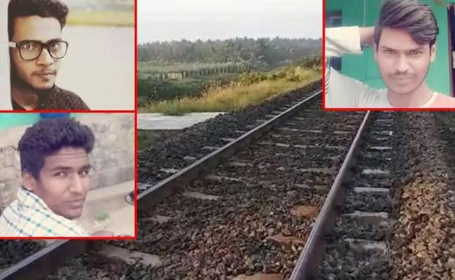 Four Engineering Students Died After A Train Collide Near Coimbatore - Sakshi