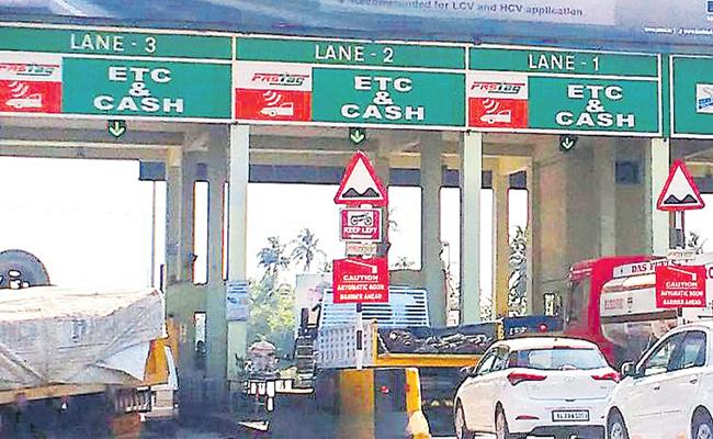 NHAI Plans For Electronic Toll Collection System From Next Month - Sakshi