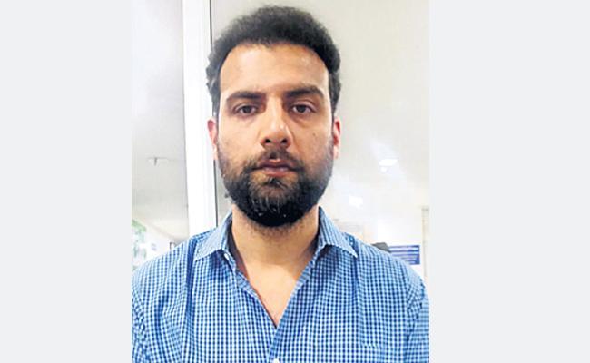 Hukka Center Owner Arrest in Hyderabad - Sakshi