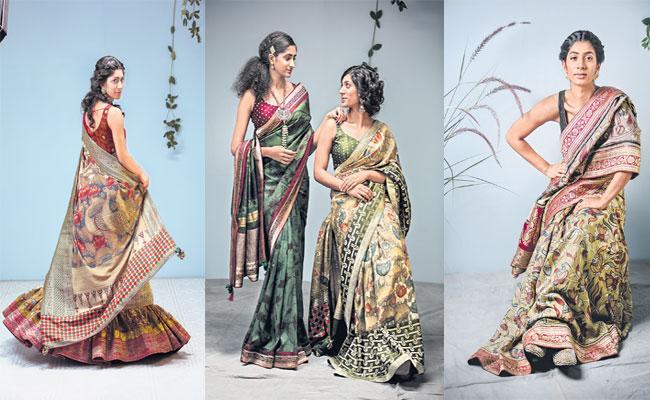 Penn Kalankari Is Famous For Its Designs At National Level - Sakshi