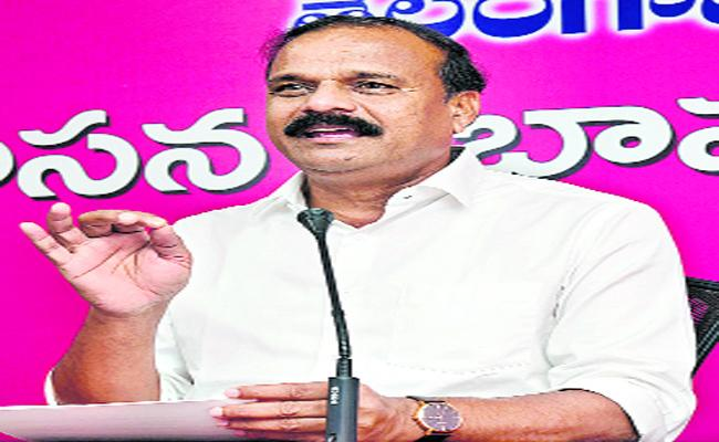 None Of TRS MLAs Are In Touch With The BJP - Sakshi