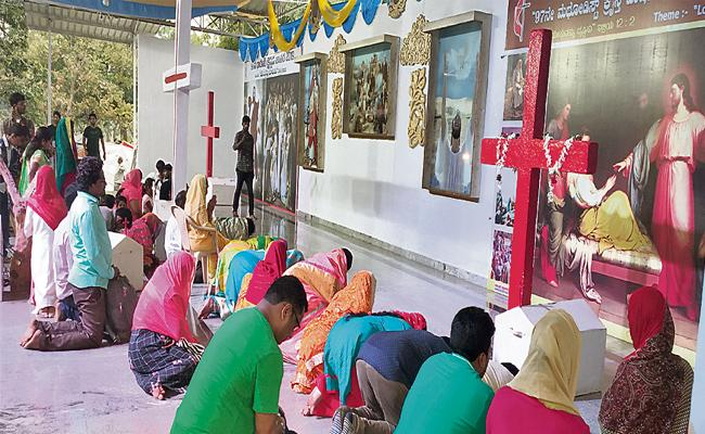 Methodist Christian Celebrations Going On With Devotion - Sakshi
