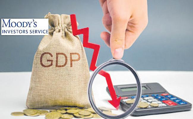 Moodys Report on Indian GDP Growth - Sakshi