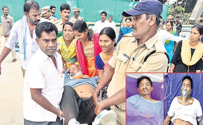 Two RTC Employees Got Heart Stroke In Yadagirigutta - Sakshi