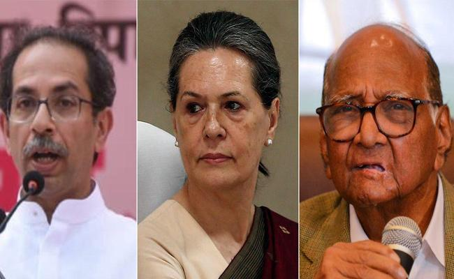 Shiv Sena NCP And Congress May Form Government On Sunday - Sakshi