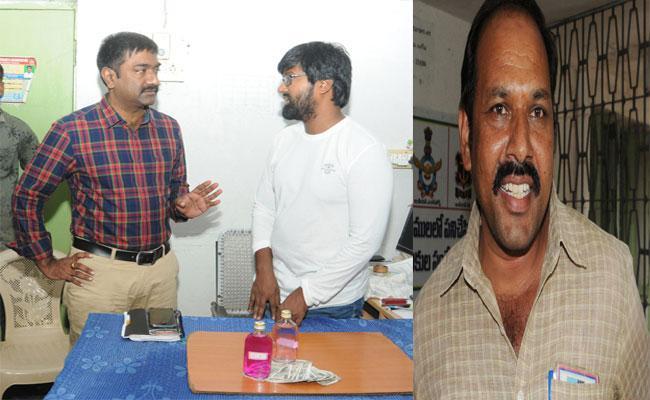 Demand For Bribe By Prakasam District Military Welfare Officer - Sakshi