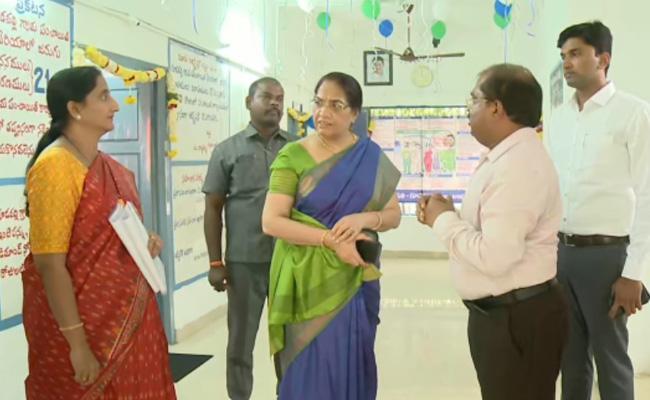 AP CS Checks The Implementation Of Govt Schemes - Sakshi