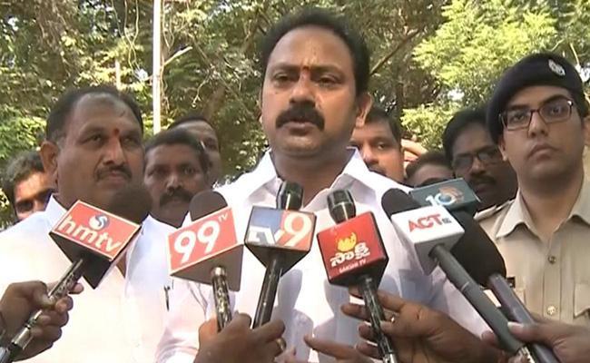 Alla Nani Questioned Chandrababu Over YSRCP Activist Murder Case - Sakshi