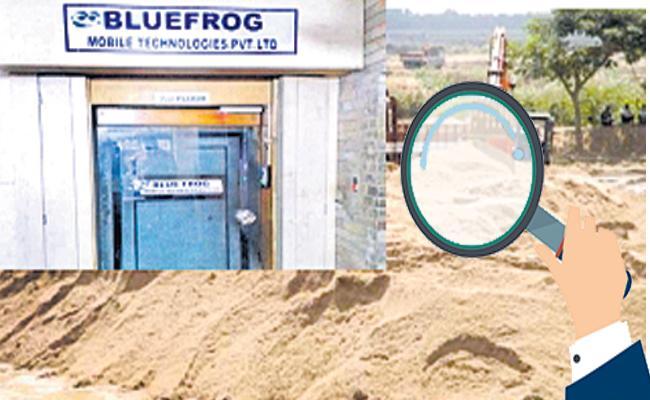 Blue Frog MD Cellphones Was Seized - Sakshi