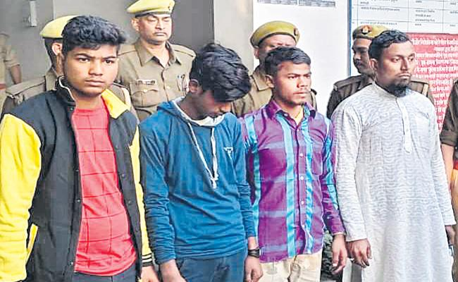 Uttar Pradesh Police Detain EX Army Doctor In Kushinagar Masjid Blast Cas - Sakshi