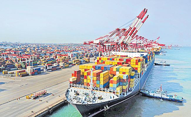 Third month was negative As a series of Indian exports - Sakshi