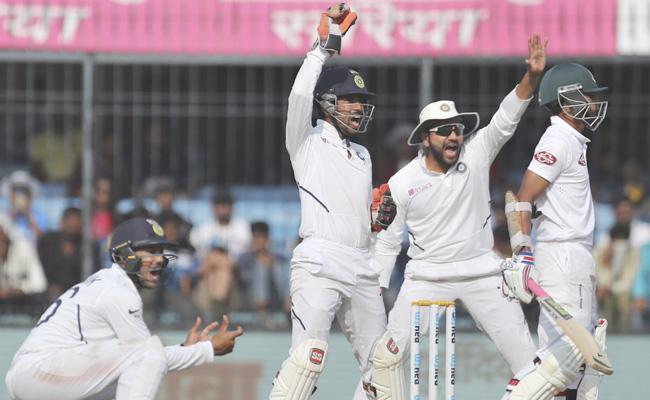 Ind Vs Ban: Team India Dismantle Bangladesh For Innings Win - Sakshi