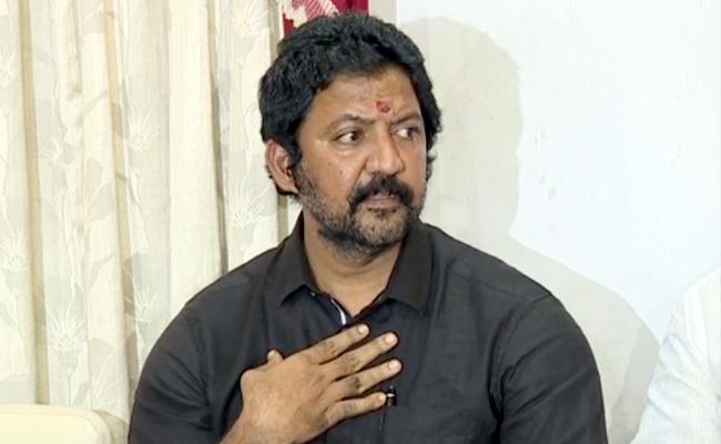 Gannavaram MLA Vallabhaneni Vamsi Slams Chandrababu Naidu - Sakshi