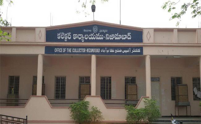 Irregularities In Nizamabad Revenue Office - Sakshi
