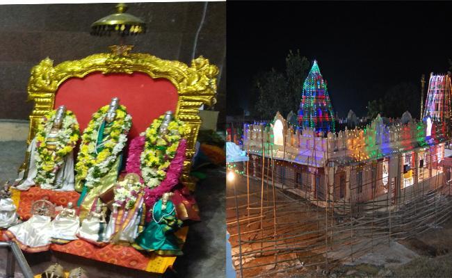 Sita Rama Kalyanam in Jeedikal Temple Warangal - Sakshi