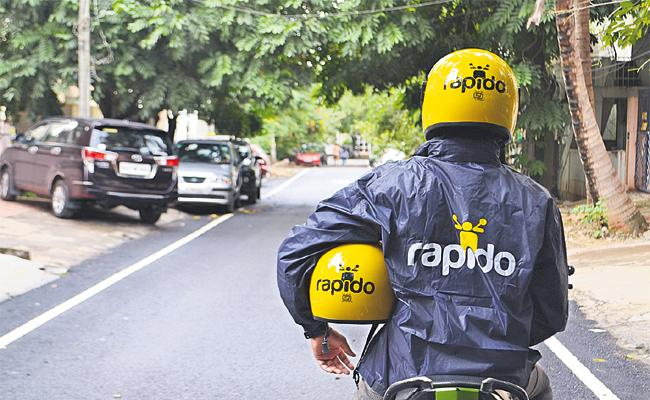 Hyderabad People Use Rapido Bike Taxi - Sakshi