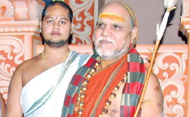 Swaroopanandendra Swamiji Says English Education Is Essential - Sakshi
