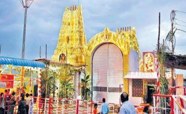 Yadadri Temple Development Work To Be Completed In Februaray  - Sakshi