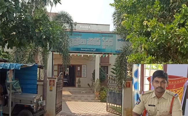 ACB Officers Attack On Gollaprolu Police Station - Sakshi