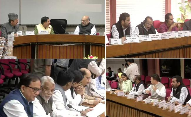 Parliament winter session : all-party meeting Begins - Sakshi