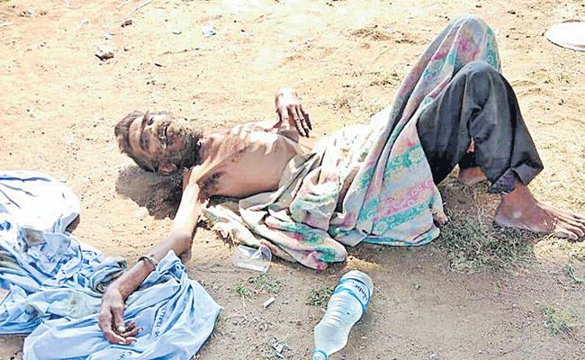 A Man Died At Mancherial Due To Health Issues - Sakshi