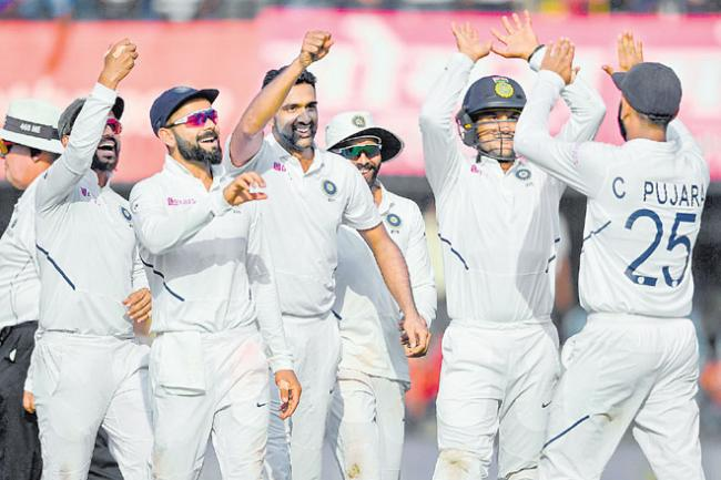 India Beats Bangladesh In 1st Test Match - Sakshi