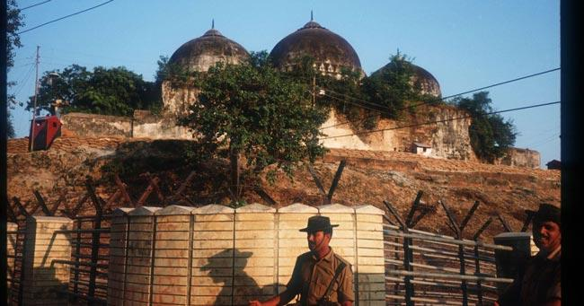 Security beefed-up in Ayodhya ahead of Babri Masjid demolition anniversary - Sakshi