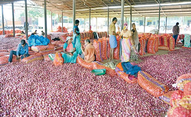 Onion Prices was significantly increased in the state - Sakshi