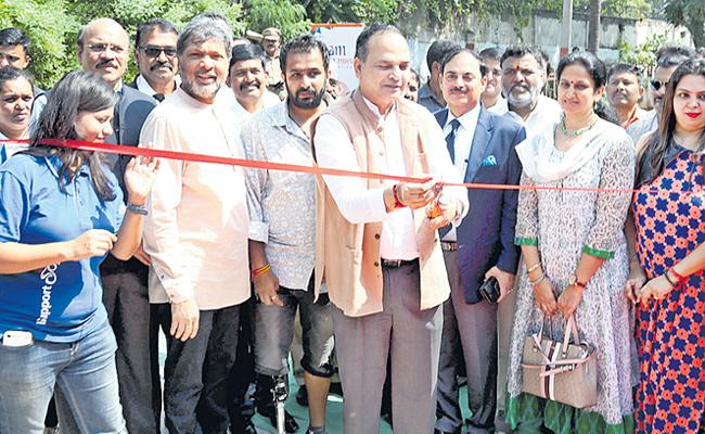 Para Sports Academy Opened in Hyderabad - Sakshi