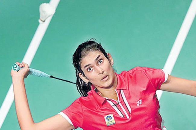 Badminton Tournament Rutvika Shivani Entered Final - Sakshi