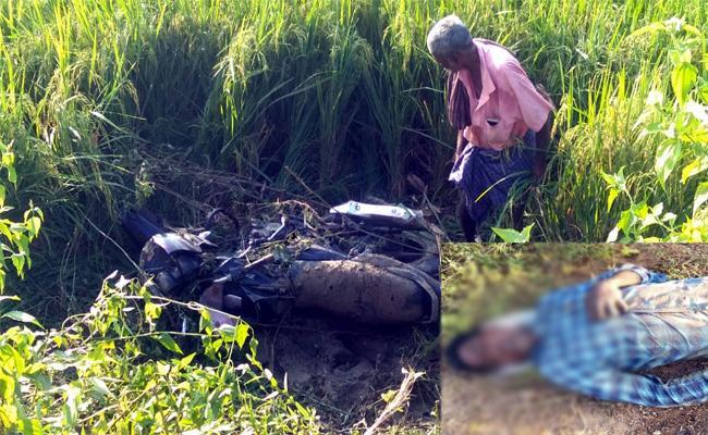 Man Dies In Road Accident At Rajam - Sakshi