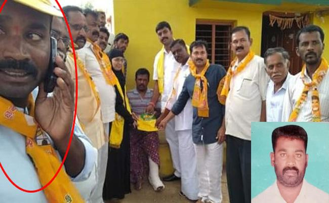 TDP Leaders Unruly Antics Emerged In Hindupuram - Sakshi