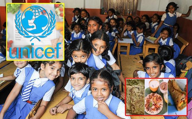Uttapam, Dal Paratha: Unicef recipe for Healthy Children - Sakshi