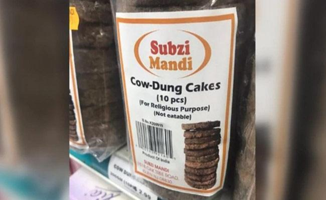 Cow Dung Cakes Just For Rs 240 In New Jersey - Sakshi