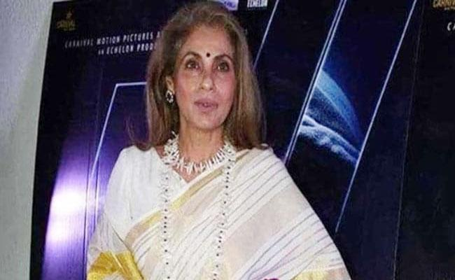 Dimple Kapadia Says She Is Alive Over Health Rumours - Sakshi