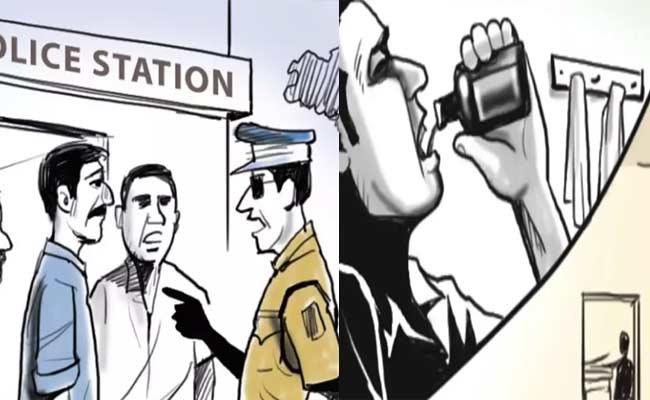 4 Men Attempted Suicide In Fear Of Cases In Mancherial - Sakshi