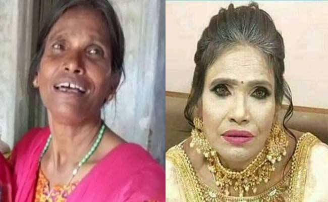 Ranu Mondal Gets Trolled For Her Makeover Look - Sakshi